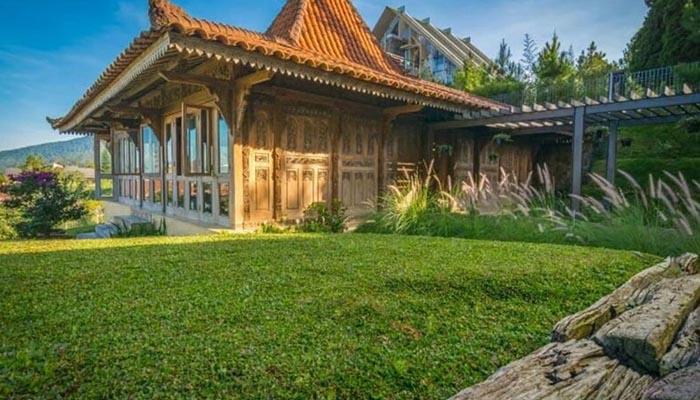 villa buvi di kawasan lembang